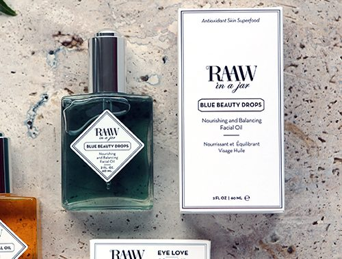 Raaw in a jar, olie, ansigt, sensitiv hud, Danish Beauty Award 2017