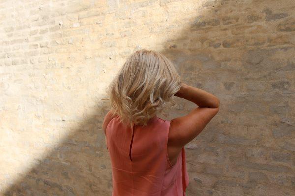 Blondine, Hår, grå hår, afbleget, tørt, glossing, Nordic Hair Concept, frisør,