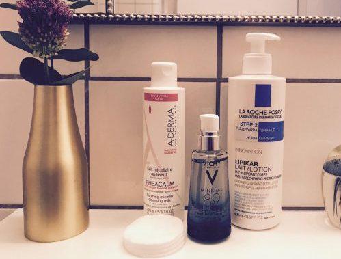 Apotek, parfumefri, Vichy, La Roche-Posay, A-Derma, hudpleje
