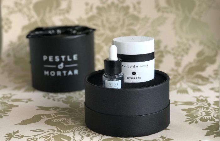Pestle & Mortar, hudpleje, irsk, Hyaluron, serum, parfumefri, vegansk, fugt, creme