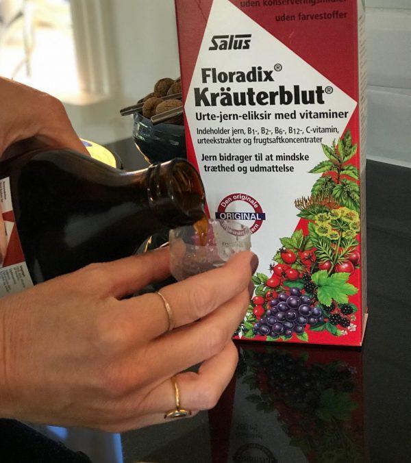 Floradix Kräuterblut, kosttilskud, jern, urter, energi,