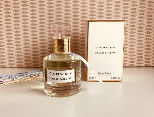 Carven, parfume, designer, eau de toilette, modehus, couture, fransk