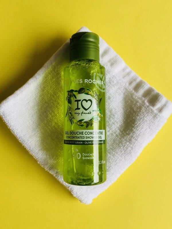Yves Rocher, showergel, miljøvenligt, bad, krop, vask,