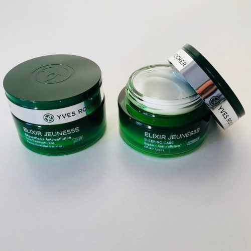 Yves Rocher, hudpleje, Elixir Jeunesse, Maske, creme, serum, øjencreme, anti-pollution