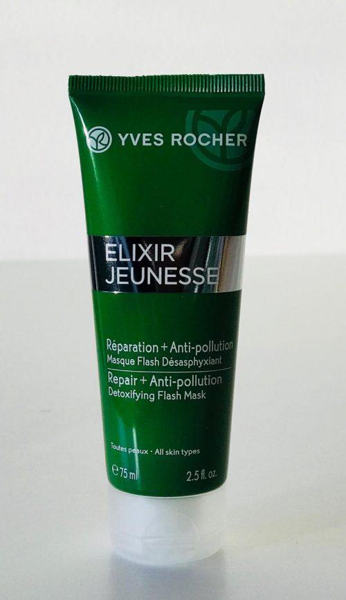 Yves Rocher, hudpleje, Elixir Jeunesse, Maske, creme, serum, øjencreme, anti-pollution