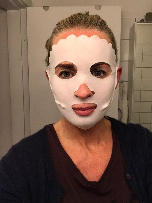 Swiss Clinic, Face Perfecting Dry Mask, ansigtsmaske, pleje, hud,