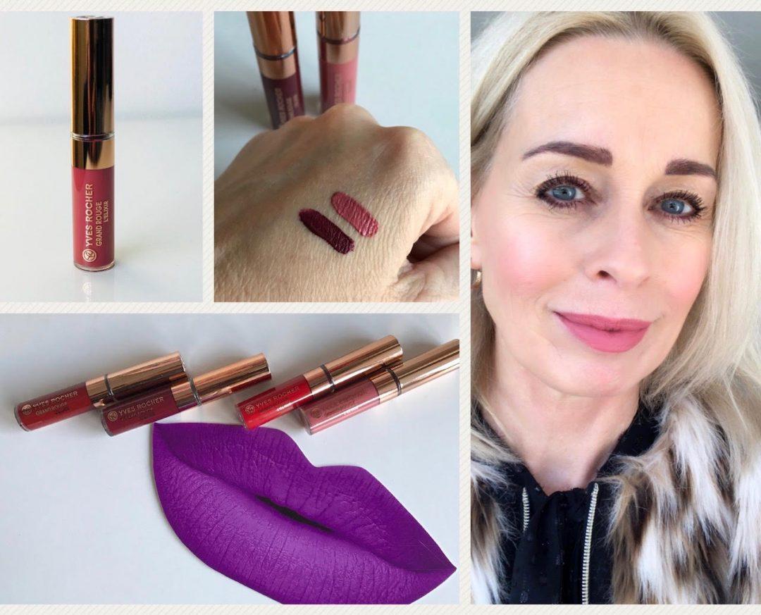 Grand Rouge Gloss Elixir, Yves Rocher, lipgloss, læbestift, mat, flydende, læber,