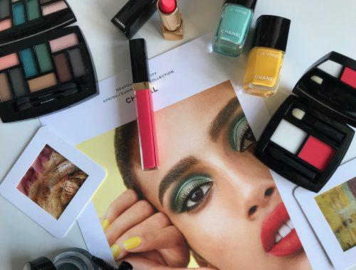 Chanel, farver, forår, makeup, look, 2018, nyheder,