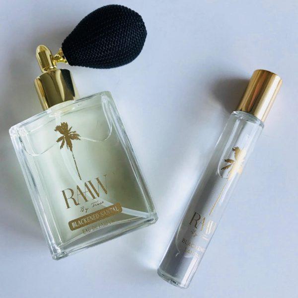 Raaw by Trice, parfume, økologisk, Blackened Santal, sensuel, parfumeolie