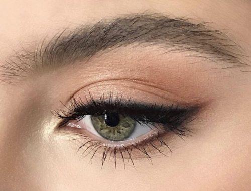 Eyeliner, tip, holdbar, primer, øjenskygge, vandfast