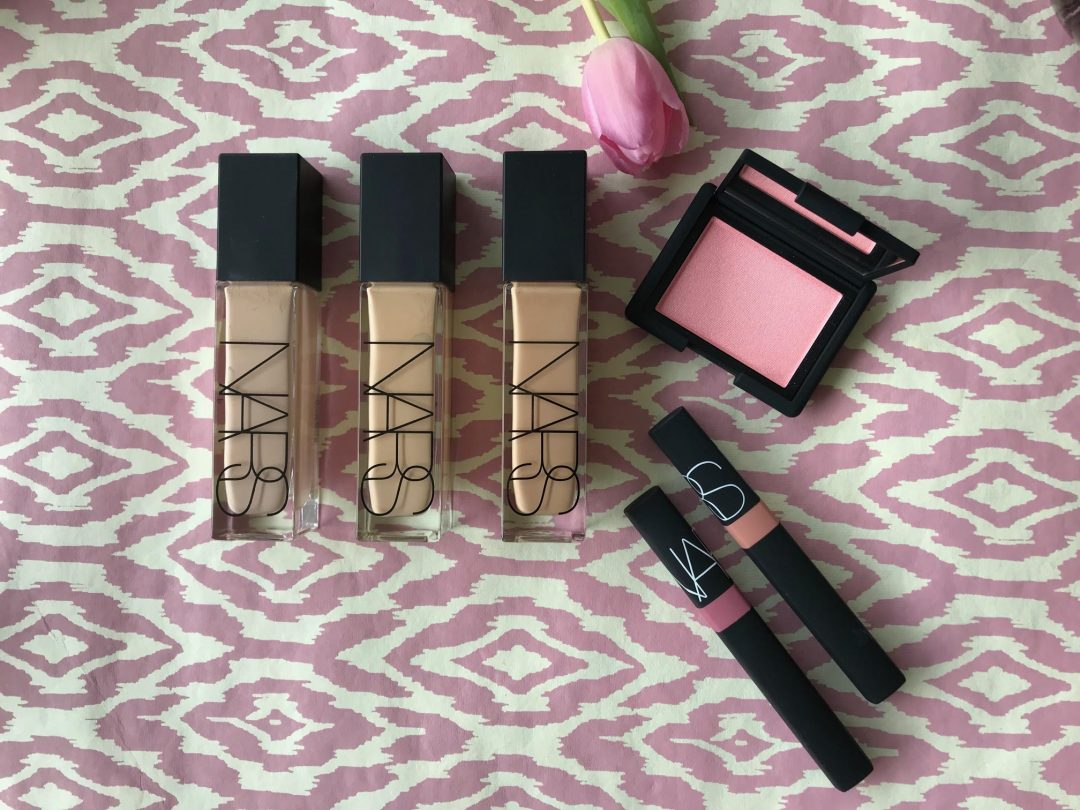 Nars, makeup, forår, 2018, blush, foundation, lipgloss