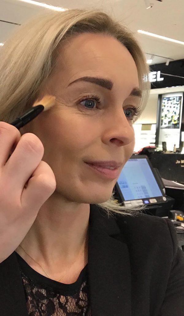 Giorgio Armani, makeup session, makeup, foundation, hud, Illum, øjne, læber