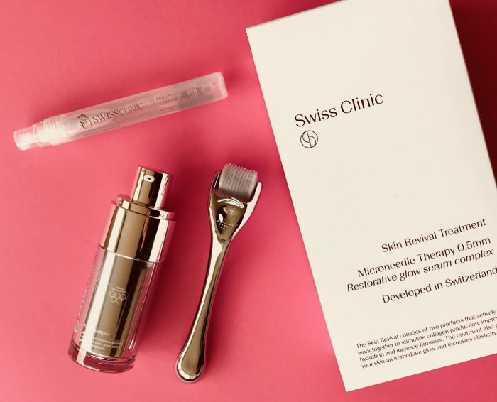 Swiss Clinic, Skin Revival Treatment, Micro needling, Skin Roller, Face Serum,