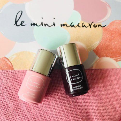 Le Mini Macaron le Maxi!, gel manicure set, negle, manicure,