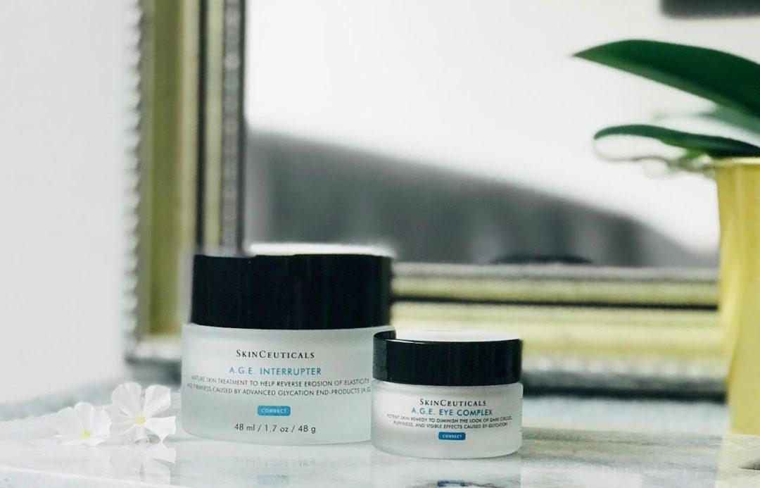 Skinceuticals, moden hud, A.G.E. Interrupter, øjencreme, ansigtscreme