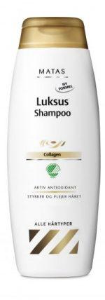 Matas, luksusshampoo, hår, hårpleje, shampoo, budget, skønhed