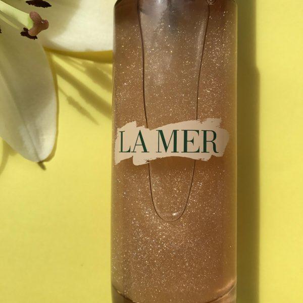 Krop, olie, La Mer, guld, Glowing Body Oil, glimmer