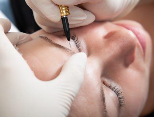 Permanent makeup, bryn, tatovering, Aglaia Klinikken,