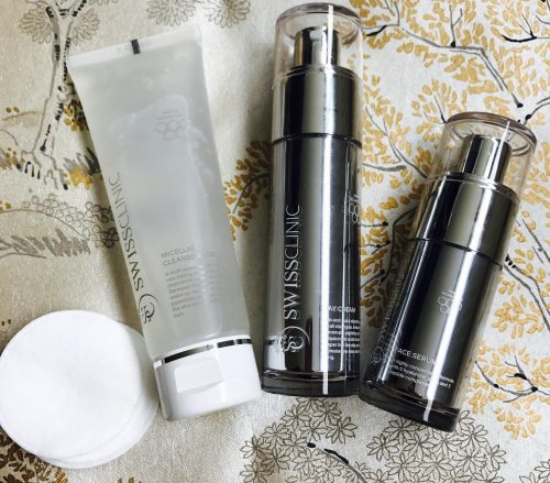Swiss Clinic, hudpleje, Day Cream, Night Cream Face Serum, sommerhud,