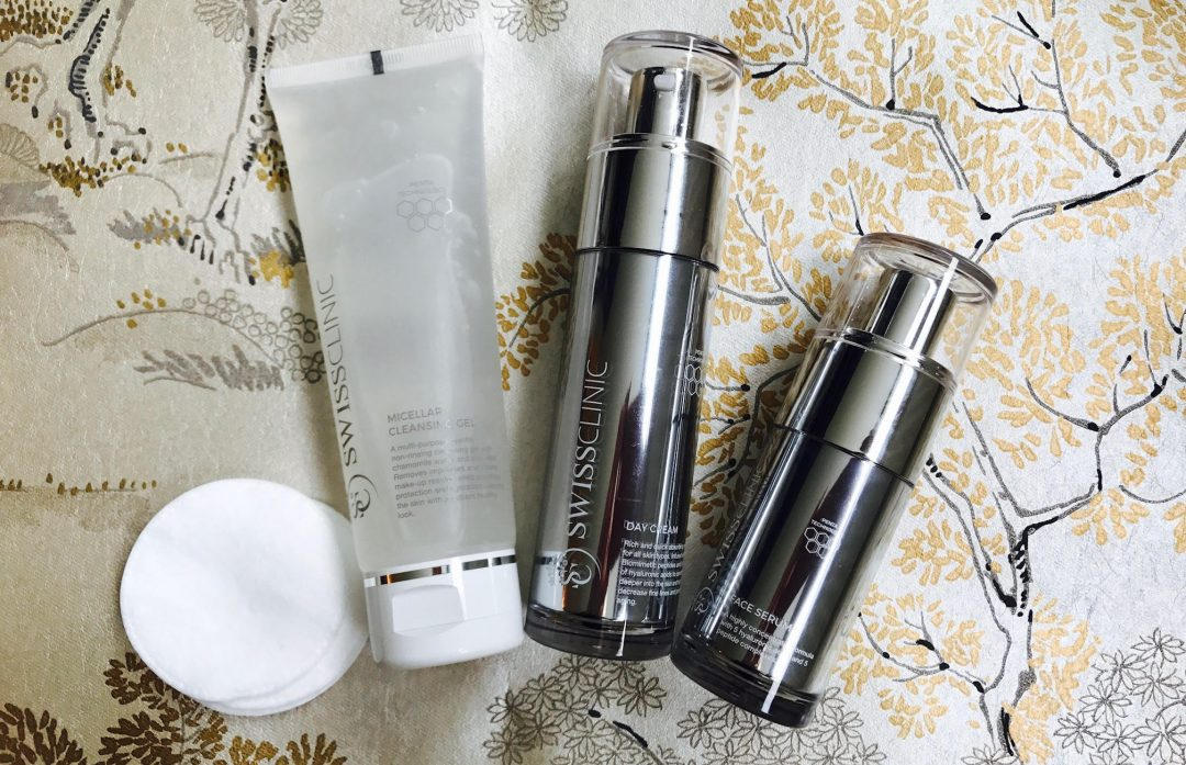 Swiss Clinic, konkurrence, Face Serum, Day Cream, Micellar Cleansing Gel, hudpleje