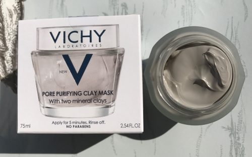 Vichy, masker, Quenching Mineral Mask, Pore Purifying Clay Mask, Double Glow Peel Mask, hudpleje, hurtig effekt