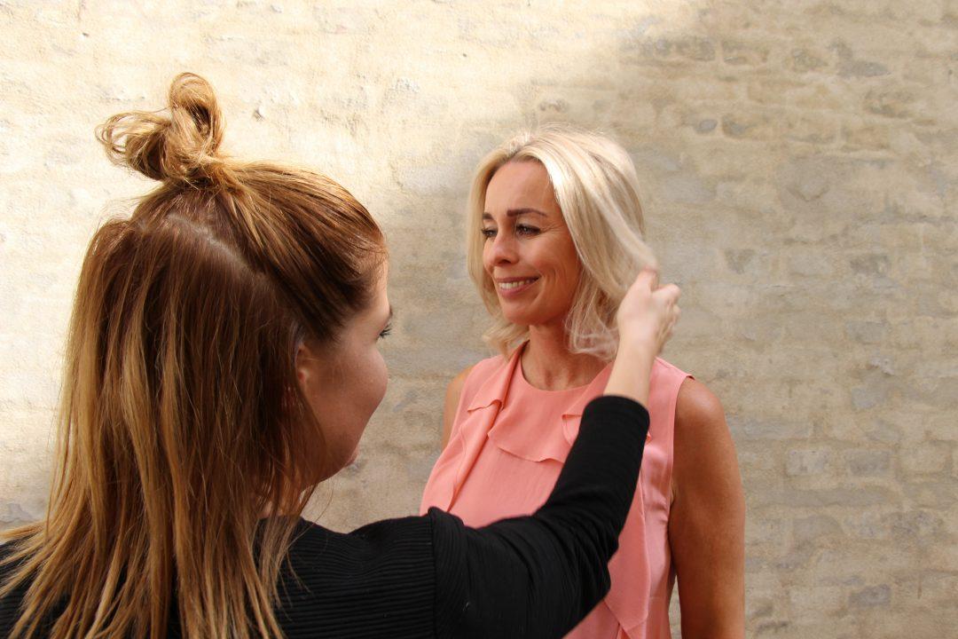 Hår, grå hår, afbleget, tørt, glossing, Nordic Hair Concept, frisør,