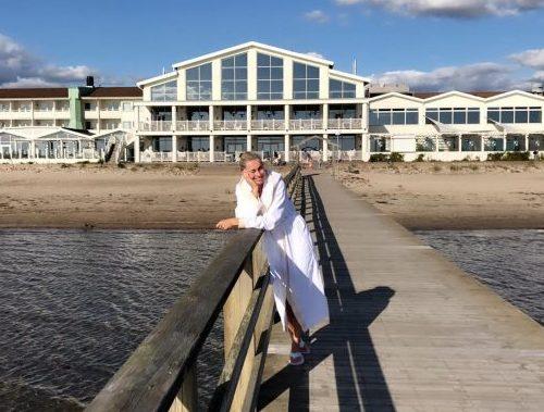 På besøg hos Falkenberg Strandbad