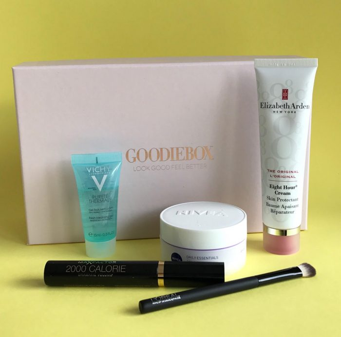 Look Good Feel Better, Goodiebox, skønhed, Max Factor, Vichy, Elizabeth Arden, Loreal