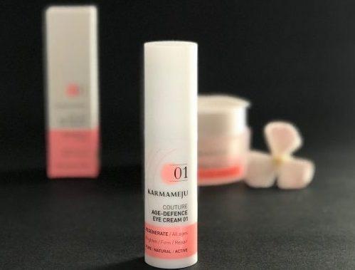 Karmameju, øjencreme, Age-Defence Eye Cream 01, naturlig, pleje, dansk, opstrammende