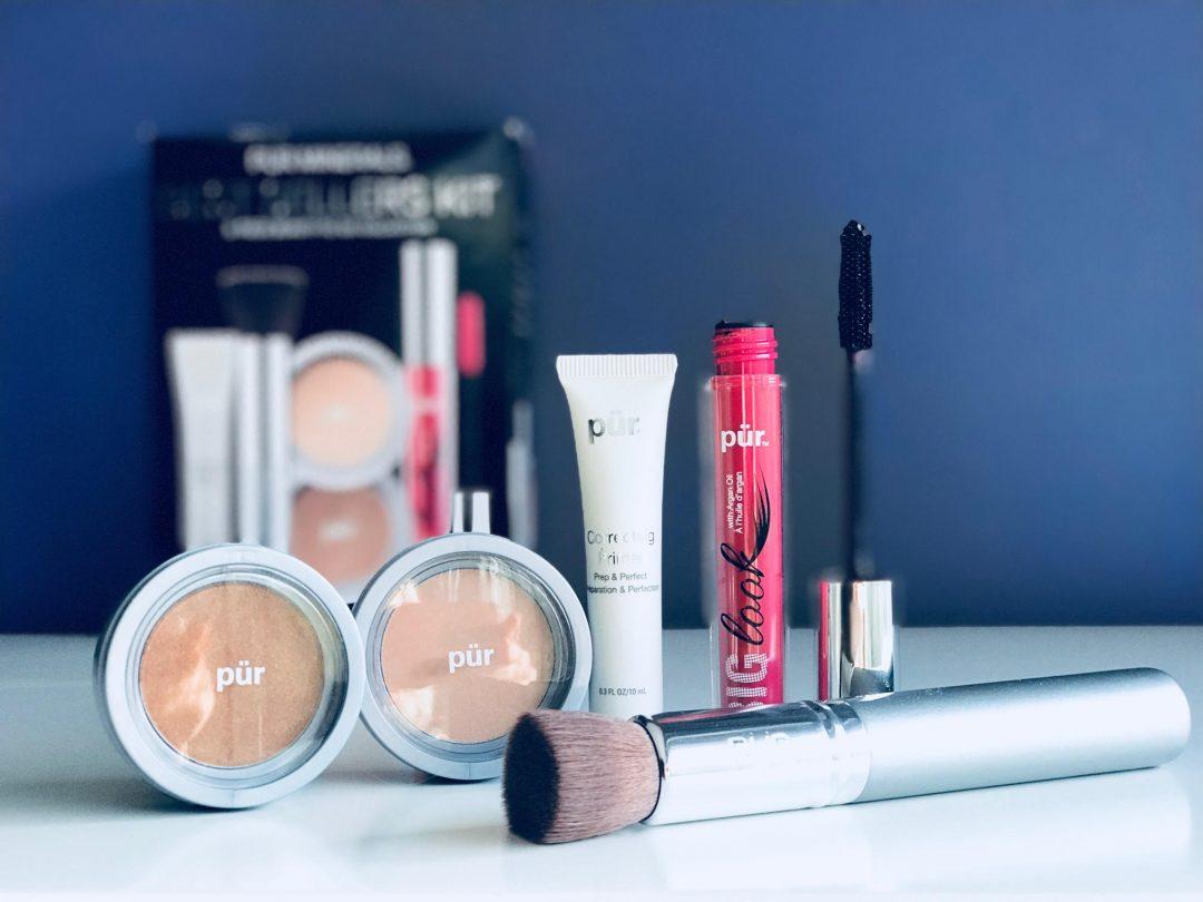 Pür, mascara, mineralpudder, Bestsellers Kit, Primer, pensel