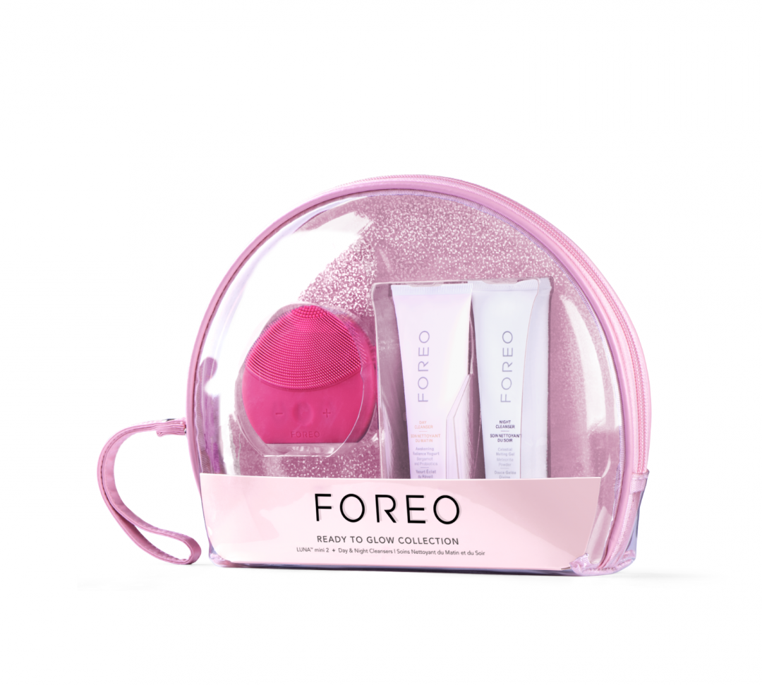 Foreo, Ready to Glow Collection, hud, rens, pleje