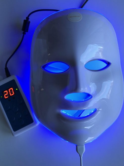 Revitalux, lysterapi, maske, anti-age, behandling, lys,