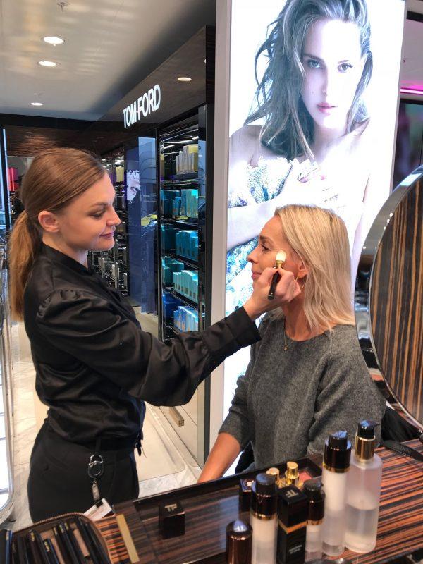 Tom Ford, makeup, Magasin, læbestift, øjenskygge, foundation, palette, hud