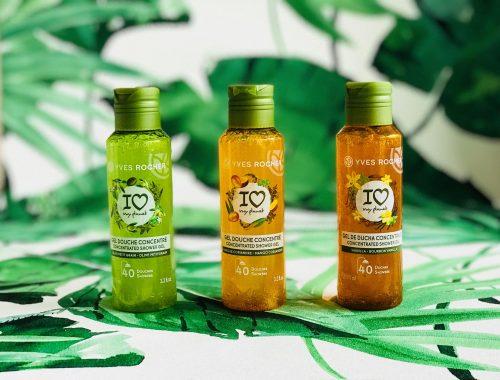 Yves Rocher, shower gel, miljøvenligt, bad, krop, vask,