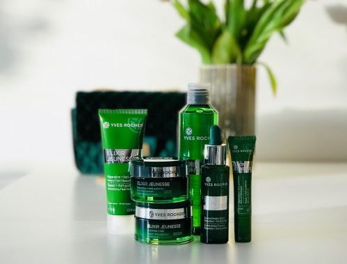 Yves Rocher, reparerende, hudpleje, Elixir Jeunesse, Maske, creme, serum, øjencreme, anti-pollution