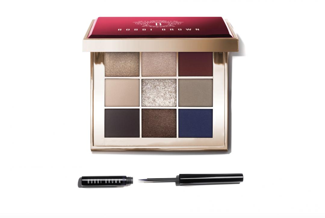 Bobbi Brown, makeup, caviar & rubies, palette, øjenskygger, eyeliner