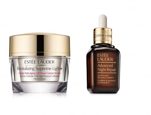 Estée Lauder, Advanced Night Repair, Revitalizing Supreme Light +, hud, hudpleje, creme, serum
