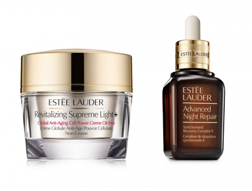 Estée Lauder, Advanced Night Repair, Revitalizing Supreme Light +, hud, hudpleje, creme, serum