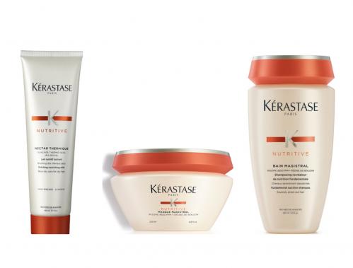 Låge 14 – Kérastase hårpleje til tørre lokker