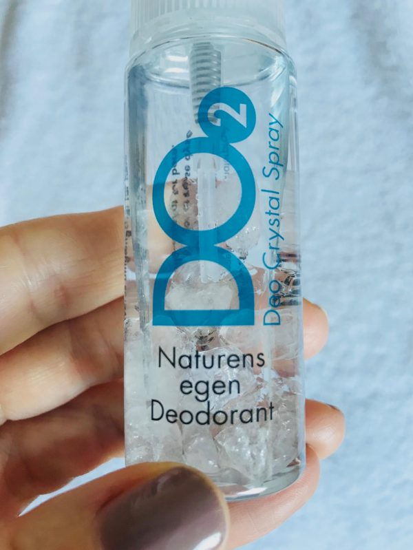 Deo2, Deo Crystal Spray, mineraler, naturlig, svanemærket, Matas, uparfumeret