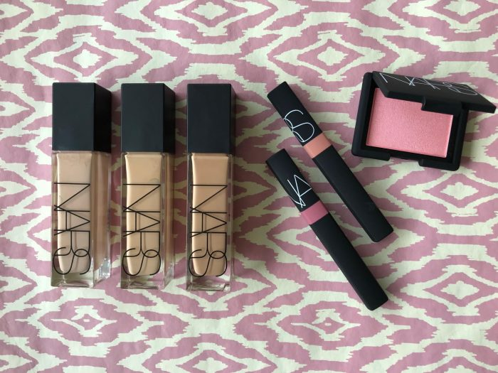 Nars, makeup, forår, 2018, blush, foundation, lipgloss