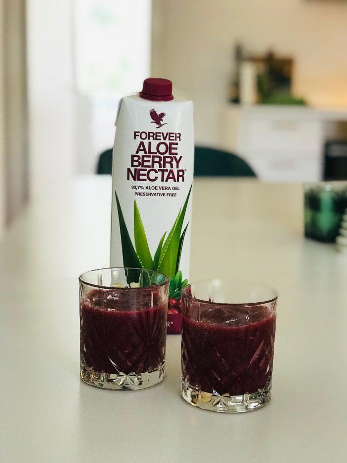 Aloe Vera, Berry Nectar, Forever, kosttilskud, velvære,