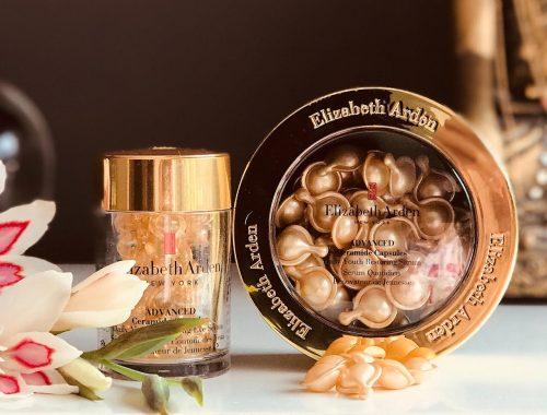 Elizabeth Arden, serum, kapslerne, ceramider, Advanced Ceramide Capsules, øjne, hud