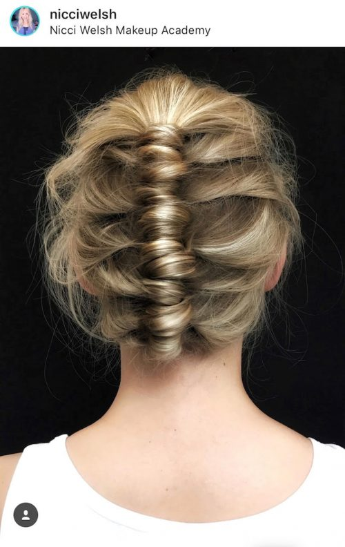 Sommerfrisure, hår, frisure, opsat, Nordic Hair Concept