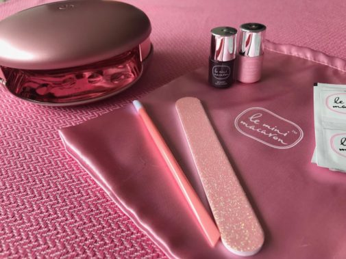 Nemt gel manicure set til hjemmebrug