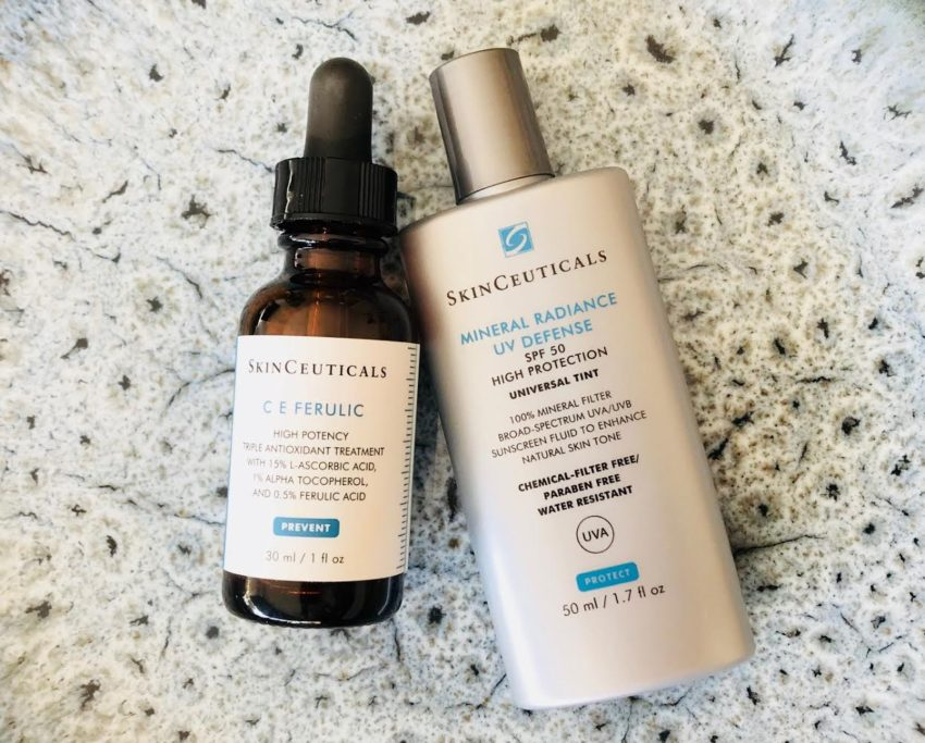 Skinceuticals, Serum, hudpleje, cosmoceutical, C E Feurulic, Mineral Radiance UV Defense, UV