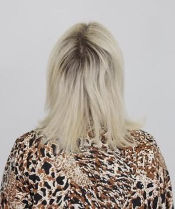 platinblond, leverpostej, hårfarve, hår, frisør,