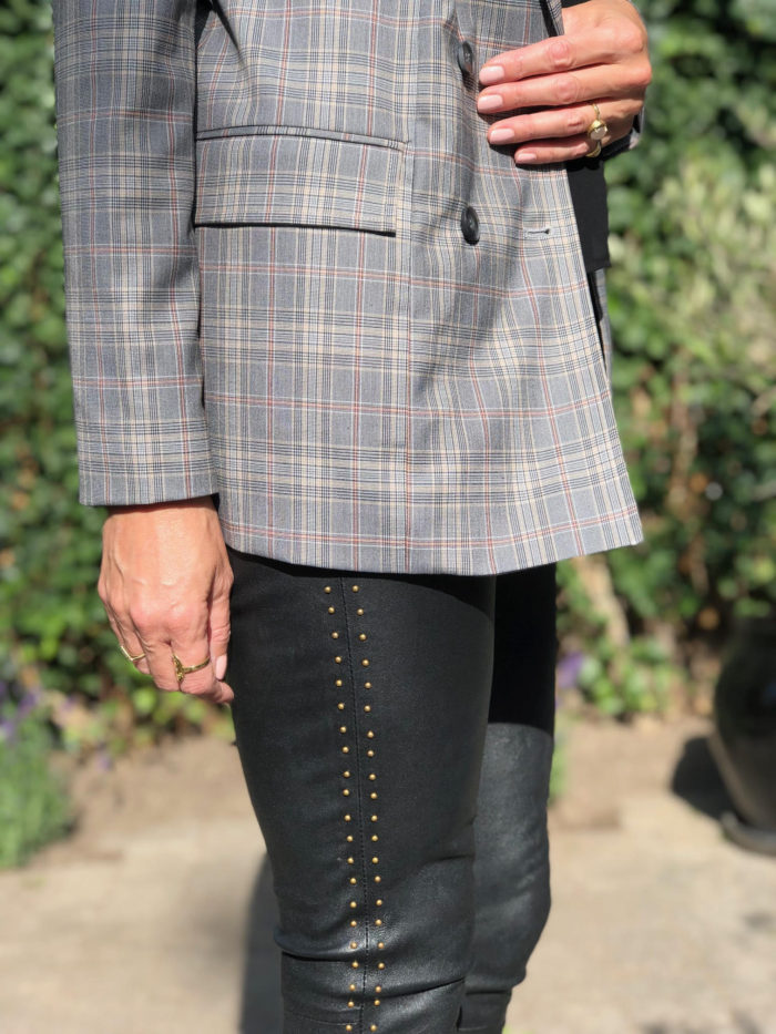 Cocouture, Finecph, blazer, læderbukser, nitter, mode