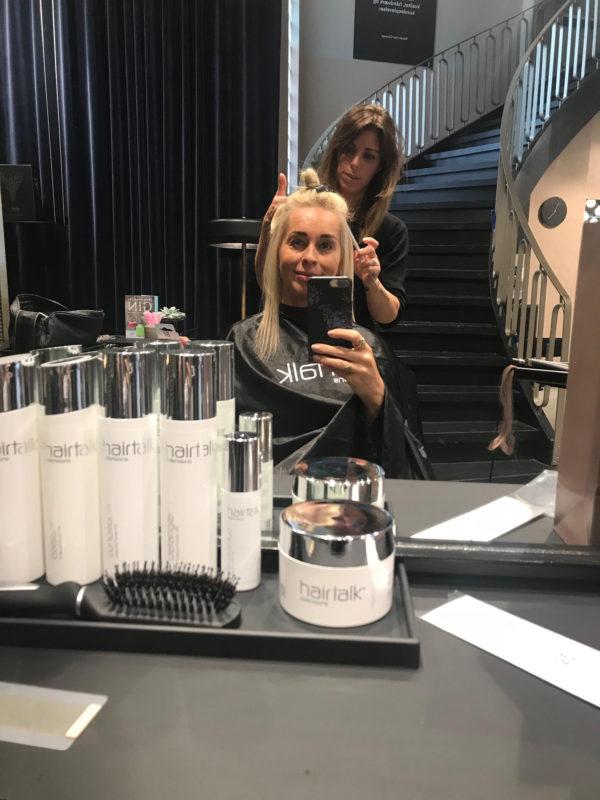 Hairtalk, extensions, Nord Hair Concept, længde, fylde, hår