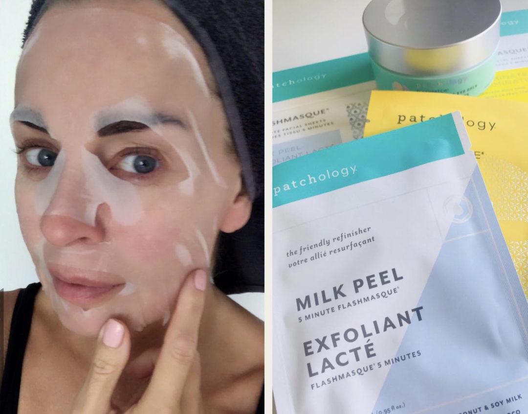 Patchology, ansigtsmaske, 5 minutter maske, hurtig hudpleje, øjenmaske